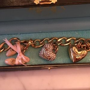 Juicy Couture Jewelry - Juicy Couture Bracelet with 2 Charms